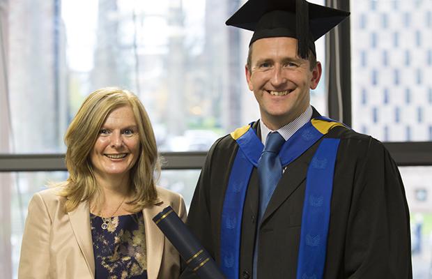 Jane Sutton and Steven Shiels