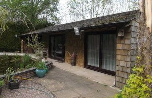 Squirrel Cottage which was built without planning permission in Whittington