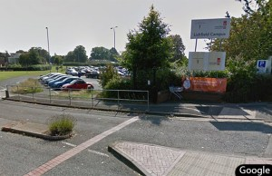 The proposed site of the new coach park in Lichfield. Pic: Google Streetview