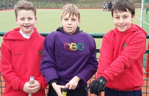 Harvey Hughes, Toby Dennis and Seb Fisher