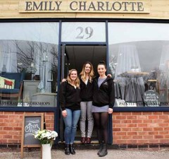 The new Emily Charlotte Furniture Renovations and Ceramics store