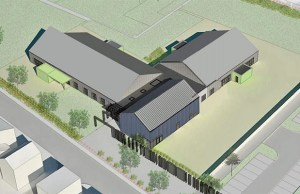 An artist's impression of the new Streethay Primary School