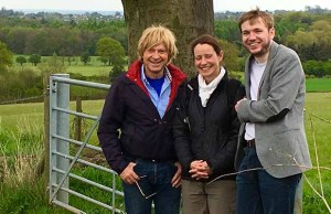 Michael Fabricant with Jane Ward and Owen Pugh from the Woodland Trust
