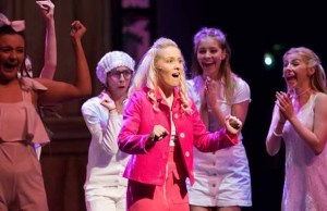 The Lichfield Garrick Youth Theatre's production of Legally Blonde - The Musical
