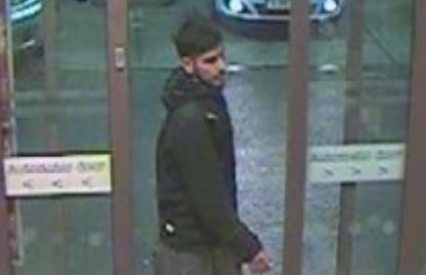 An image of the man police want to speak to
