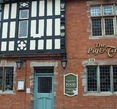 The Pig and Truffle pub in Lichfield