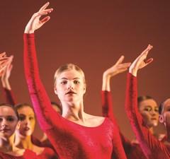 Year 13 in Ana Garcia's flamenco Solea