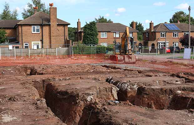 Work begins at the Levett Road site