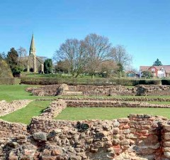The Roman Letocetum site at Wall. Pic: Bs0u10e01