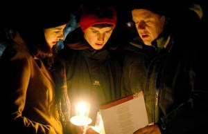 Carols by Candlelight at the National Memorial Arboretum