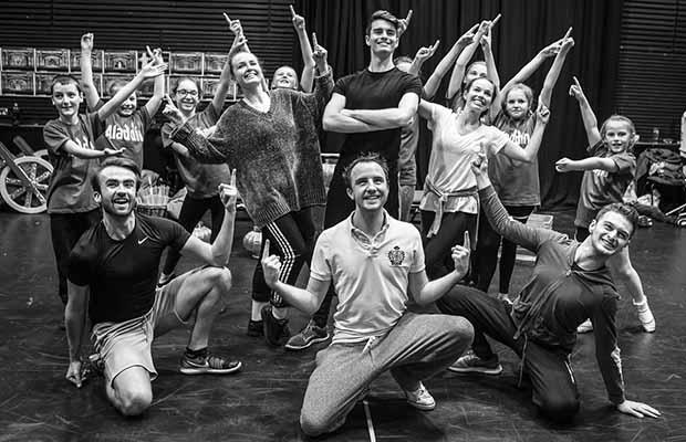 Rehearsals for Aladdin at the Lichfield Garrick