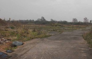 The site of the new retail development in Burntwood