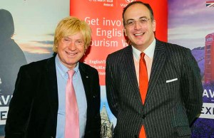 Michael Fabricant with tourism minister Michael Ellis