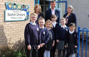 Scotch Orchard Primary School in Lichfield
