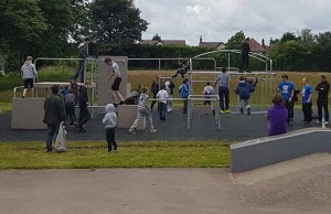 Parkour in Burntwood