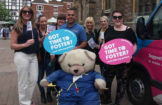 The foster care roadshow in Lichfield