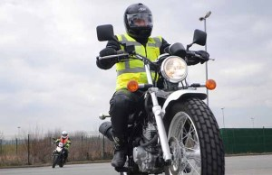 Bikers taking their CBT