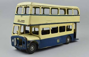 The toy bus going up for auction