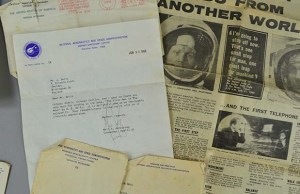 The letter sent by Neil Armstrong