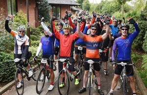 The 2017 St Giles Hospice cycle ride event