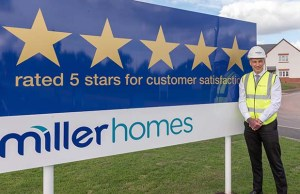 Alastair Parsons from Miller Homes Midlands