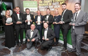 Taste of Staffordshire Good Food Award winners