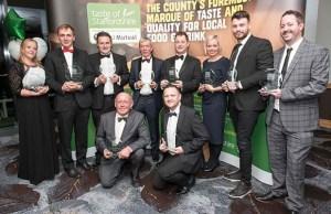 Taste of Staffordshire Good Food Award winners