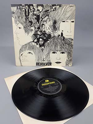 The rare copy of Revolver by The Beatles