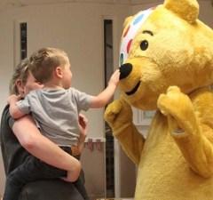 Pudsey Bear at the St Matthews nursery