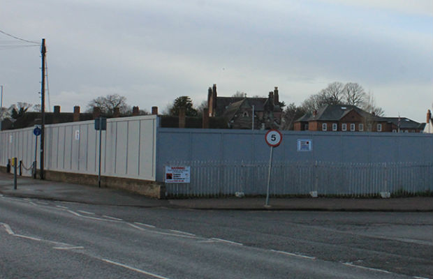 The former Tempest Ford site, part of the area earmarked for the failed Friarsgate scheme