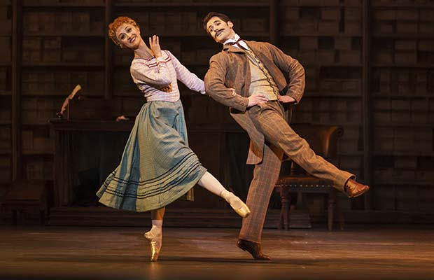 Hobson's Choice being performed by Birmingham Royal Ballet