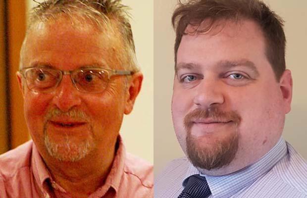 Councillors Colin Ball and Dave Robertson