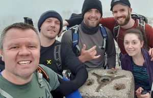 The team at Ben Nevis