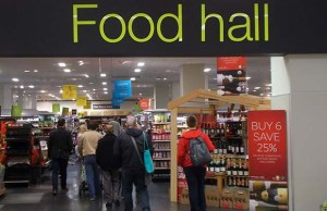 A Marks and Spencer food hall. Pic: r Tony Monblat