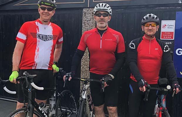 Anthony Sutton, Matt Nicholson and Jonathan Smith