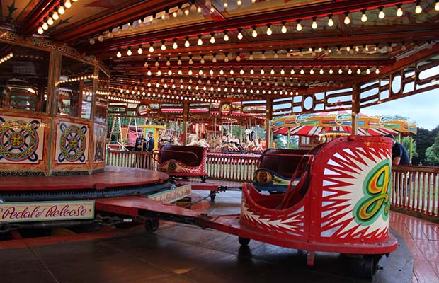 Steam funfair