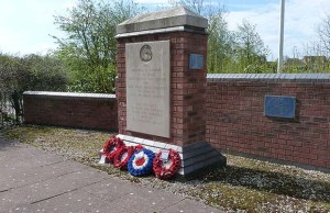The RAF Lichfield memorial in Fradley. Pic: Steve Lightfoot