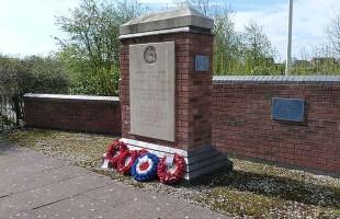 The RAF Lichfield memorial in Fradley. Pic: Steve Lightfoot