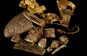 Some of the Staffordshire Hoard items