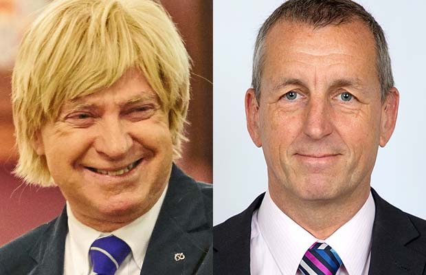 Michael Fabricant and Jamie Checkland