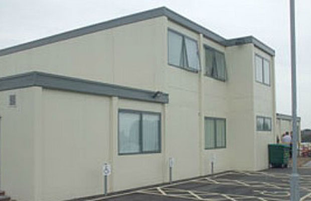 The 'temporary' health centre in Burntwood