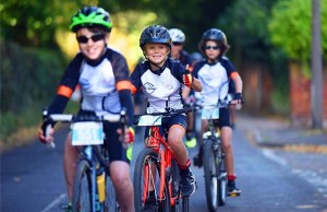 The St Giles Hospice cycling event