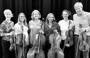 The City of Birmingham Symphony Orchestra's string ensemble