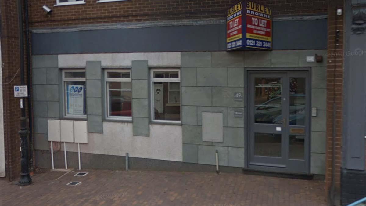 The former bank-turned-dance studio on Chasetown High Street