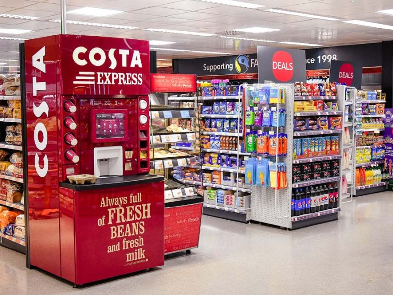 The new-look Co-op store in Alrewas