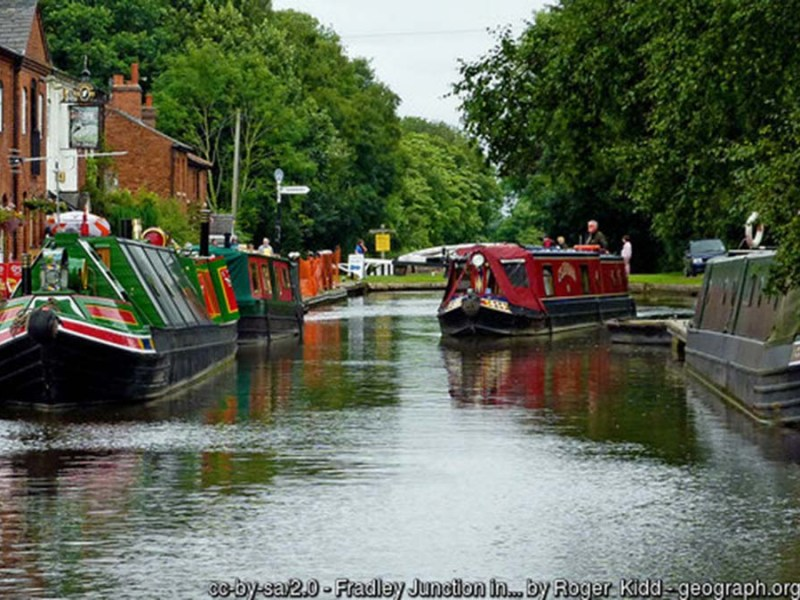 Fradley Junction. Picture: Roger Kidd