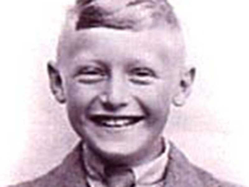Colin Russell aged 11