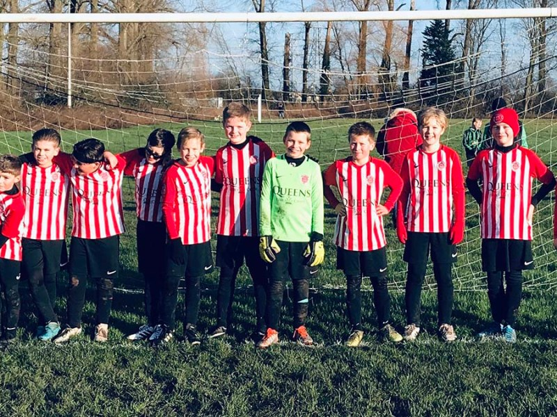 The Whittington Sharks U11 team