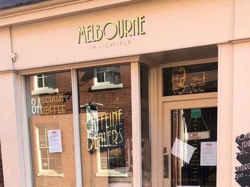 Melbourne coffee shop