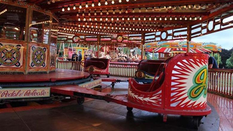 The Lightning Skid ride at Carters Steam Fair